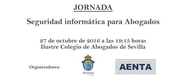 "Jornada ""Seguridad Informática para Abogados"""