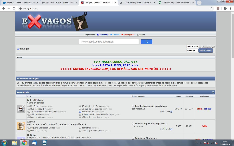 Multa De 400 000 Euros A La Web Exvagos Com Por Vulneracion De Derechos De Propiedad Intelectual Aenta Kredit umožní i stahování neomezenou. multa de 400 000 euros a la web exvagos